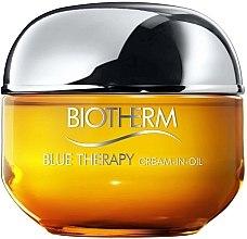 Парфюми, Парфюмерия, козметика Възстановяващ крем за лице - Biotherm Blue Therapy Cream-in-Oil (тестер)