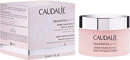Парфюми, Парфюмерия, козметика Моделиращ нощен крем - Caudalie Resveratrol Lift Night Infusion Cream