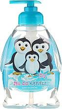 """Парфюми, Парфюмерия, козметика Детски душ гел """"Семейство пингвини"""" - Chlapu Chlap Bath & Shower Gel"""