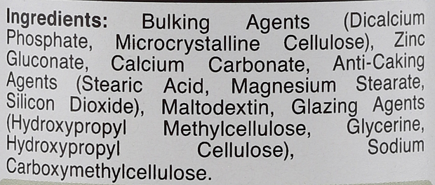 Хранителна добавка Цинк 25 мг на таблетки - Holland & Barrett Maximum Strength Zinc — снимка N3