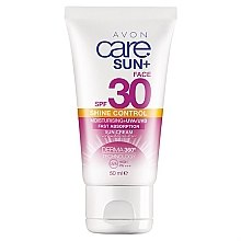 Парфюми, Парфюмерия, козметика Слънцезащитен матиращ крем - Avon Care Sun+ Shine Control Sun Cream SPF 30
