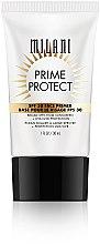 Парфюми, Парфюмерия, козметика Основа за грим с SPF 30 - Milani SPF 30 Prime Protect SPF 30 Face Primer
