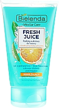 "Парфюмерия и Козметика Овлажняващ пилинг за лице ""Портокал"" - Bielenda Fresh Juice Peel"