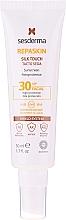 Парфюмерия и Козметика Слънцезащитен крем за лице - SesDerma Laboratories Repaskin Silk Touch SPF30