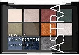 Парфюмерия и Козметика Палитра сенки за очи - Astra Make-up The Temptation Palette