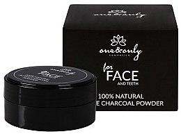 """Парфюми, Парфюмерия, козметика Зъбен прах """"Активен въглен"""" - One&Only Cosmetics For Face&Teeth Active Charcoal Powder"""