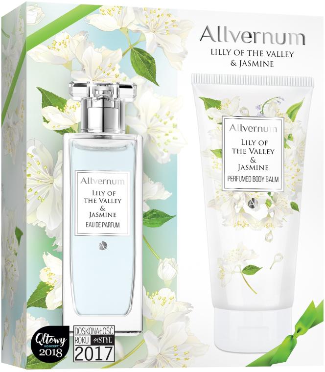Комплект (парф. вода/50ml + лосион за тяло/200ml) - Allvernum Lily Of The Valley & Jasmine