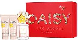 Парфюми, Парфюмерия, козметика Marc Jacobs Daisy Eau So Fresh - Комплект (тоал. вода/75ml + лосион за тяло/75ml + душ гел/75ml)