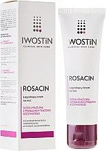 Парфюмерия и Козметика Успокояващ нощен крем за лице - Iwostin Rosacin Redness Reducing Night Cream