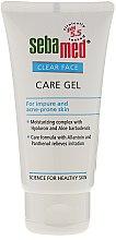 Парфюмерия и Козметика Почистващ гел за лице - Sebamed Clear Face Gel Moisturizing And Soothing Gel