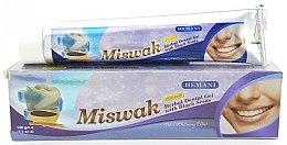 Парфюмерия и Козметика Гел-паста за зъби Мисвак - Hemani Miswak Herbal Dental Gel