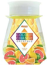 """Парфюмерия и Козметика Гел освежител на кристали """"Цитрусова енергия"""" - Airpure Colour Change Crystals Citrus Zing"""