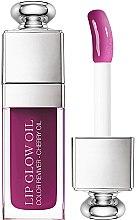 Парфюмерия и Козметика Подхранващо масло за устни - Dior Lip Glow Oil