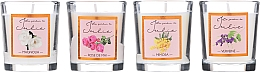 Парфюмерия и Козметика Комплект ароматни свещи - Ambientair Le Jardin de Julie