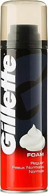 Пяна за бръснене - Gillette Regular Shave Foam for Men — снимка N1