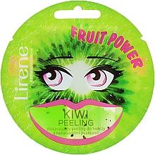 Парфюмерия и Козметика Пилинг маска за лице с киви - Lirene Fruit Power