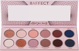 Парфюмерия и Козметика Палитра сенки за очи - Affect Cosmetics Sweet Harmony
