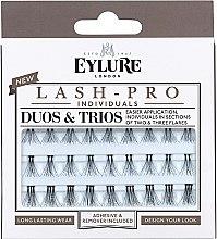 Парфюмерия и Козметика Изкуствени мигли на снопчета - Eylure Lash Pro Semi Permanent Eyelash Individual Duos And Trios