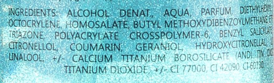 Bi-es Blossom Hills Sparkling Body Mist - Парфюмен мист за тяло с блестящи частици — снимка N4