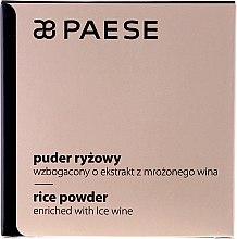 Парфюми, Парфюмерия, козметика Оризова пудра с екстракт от вино - Paese Powder