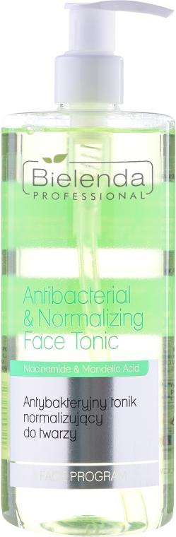 Антибактериален и нормализиращ тоник - Bielenda Professional Face Program Antibacterial & Normalizing Face Tonic