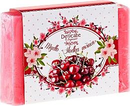 """Парфюми, Парфюмерия, козметика Сапун """"Сладка вишна"""" - Delicate Organic Aroma Soap"""