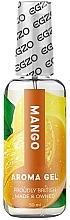 Парфюмерия и Козметика Лубрикант на водна основа с вкус на манго, ядлив - Egzo Aroma Gel Mango