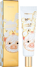 Парфюмерия и Козметика Крем за очи с екстракт от лястовиче гнездо - Elizavecca Gold Cf Nest White Bomb Eye Cream