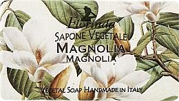 Парфюмерия и Козметика Натурален сапун с магнолия - Florinda Sapone Vegetale Magnolia