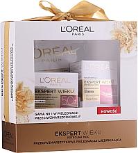 Парфюмерия и Козметика Комплект за лице - L'Oreal Age Expert (дневен крем/50ml + околоочен крем/15ml + маска/10g)