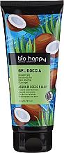 Парфюмерия и Козметика Душ гел с кокосова вода и алое - Bio Happy Shower Gel Coconut Water And Aloe