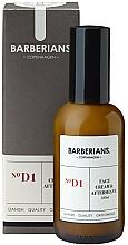 Парфюмерия и Козметика Крем за лице и афтършейв - Barberians. №D1 Face Cream & Aftershave