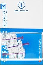 Парфюмерия и Козметика Комплект интердентални четки за импланти, CPS 516, 3бр - Curaprox Soft Implant