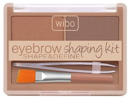 Парфюмерия и Козметика Комплект за оформяне на вежди - Wibo Eyebrow Shaping Kit