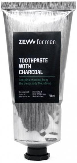 Паста за зъби с активен въглен - Zew For Men Toothpaste With Charcoal
