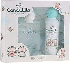 Парфюмерия и Козметика Luxana Canastilla - Комплект за деца (тоал. вода/100ml + сапун/150ml)