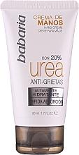 Парфюмерия и Козметика Крем за ръце за много суха кожа - Babaria Cream Hands Urea Anti-grietas