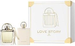 Парфюми, Парфюмерия, козметика Chloe Love Story - Комплект (парф. вода/50ml + лосион за тяло/100ml)