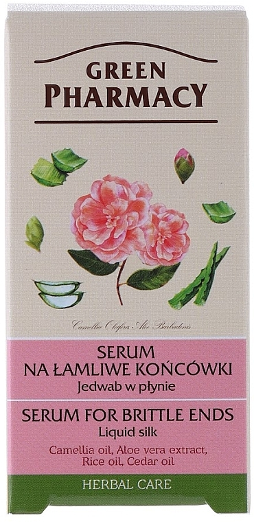 Серум-коприна за коса - Green Pharmacy