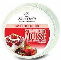Парфюмерия и Козметика Масло за ръце и крака - Stani Chef's Hand And Foot Butter Strawberry Mousse