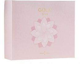 Парфюми, Парфюмерия, козметика Roberto Verino Gold Diva - Комплект парфюмна вода (edp/90ml + edp/30ml)