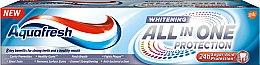 Парфюмерия и Козметика Избелваща паста за зъби - Aquafresh All-in-One Whitening