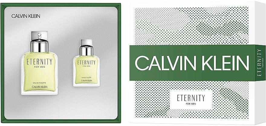 Calvin Klein Eternity For Men - Комплект тоалетна вода (edt/100ml + edt/30ml) — снимка N2