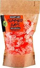 Парфюмерия и Козметика Тонизиращи кристали за вана с масло от портокалова кора - Beauty Jar Summer Days Energizing Bath Crystals with Orange Peel Oil