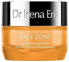 Парфюмерия и Козметика Нощна гел-маска за лице - Dr Irena Eris Face Zone Jelly Sleeping Mask Ultra-Plumping & Regenerating