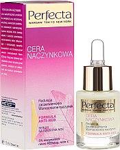 Парфюмерия и Козметика Серум за лице против зачервявания и укрепва капилярите - Perfecta Cera Naczynkowa Serum