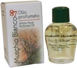 "Парфюмерия и Козметика Парфюмно масло ""Бял мускус"" - Frais Monde White Musk Perfumed Oil"