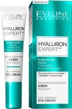 Парфюми, Парфюмерия, козметика Крем за околоочен контур против бръчки - Eveline Cosmetics Hyaluron Expert Anti-Wrinkle Eye Cream