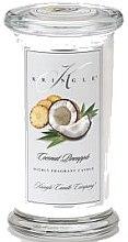 Парфюми, Парфюмерия, козметика Ароматна свещ в бурканче - Kringle Candle Coconut Pineapple