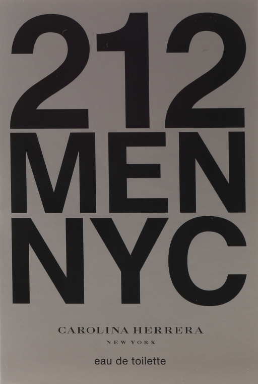 Carolina Herrera 212 Men NYC - Тоалетна вода (мостра) — снимка N1